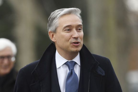 Canada's Foreign Minister François-Philippe Champagne