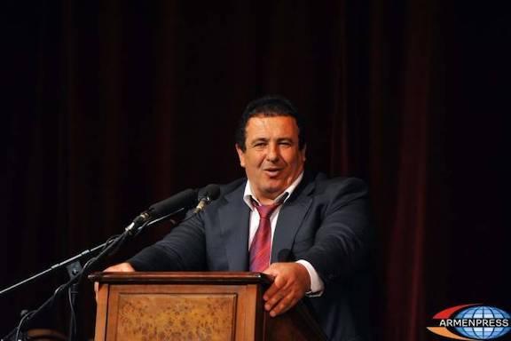 Chairman of the Prosperous Armenia Party Gagik Tsarukyan