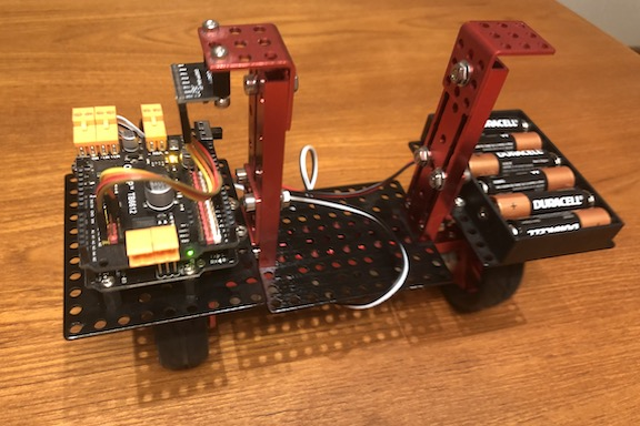 Karnig won first place in the science fair when he built a two-wheeled self-balancing robot, which demonstrated a feedback control loop and applications of micro-controllers and software code.