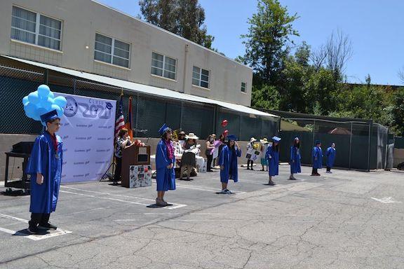 Medinian School's 8th grade graduation