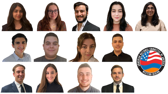 The ANCA-WR 2020 summer interns