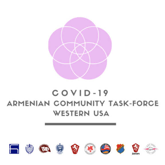 ARF-led COVID-19 Armenian Community Task Force, Western USA