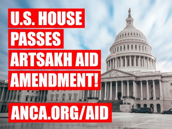 The U.S. House voted to continue sending aid to Artsakh, standing strong against an Azerbaijani government-driven, State Department-supported effort to end Artsakh's demining program.