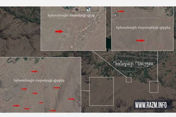 How Azerbaijan side surrounded its own population with artillery batteries, turning them into targets