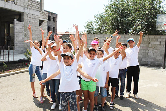 Hundreds of children take advantage of the services at the Shirvanian Center in Gyumri