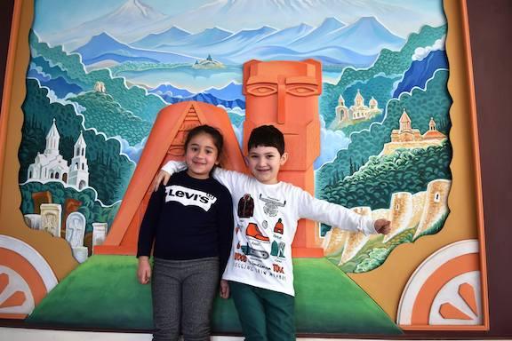 Artsakh children