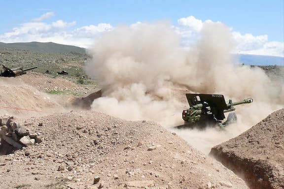 Armenian Armed Forces respond to Azerbaijani attack in the Tavush province