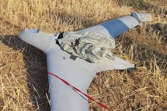 Artsakh forces downed an Azerbaijani Orbiter-3 drone, which is made in Israel
