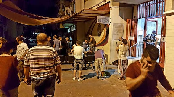 The ARS centers around Beirut are a refuge for the community