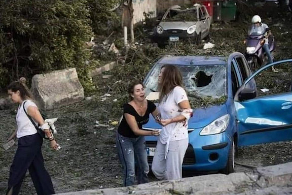 In the aftermath of the blast, Beirut residents are shocked