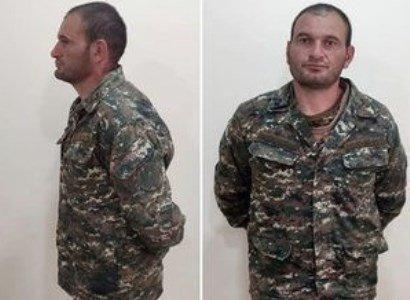 Captured Armenian soldier Gurgen Alaverdyan seen here in Azerbaijani custody