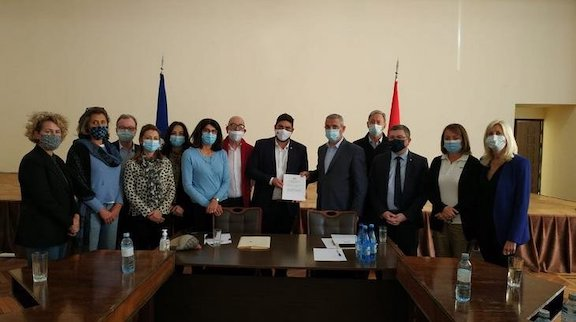 15 French lawmakers visited Artsakh and met with the country's foreign minister Masis Mayilyan