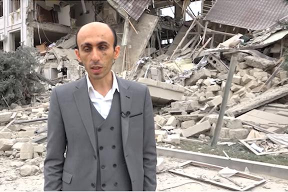 Artsakh Human Rights Defender Artak Beglaryan