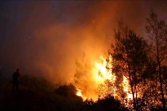 Azerbaijan is now burning Artsakh's forests