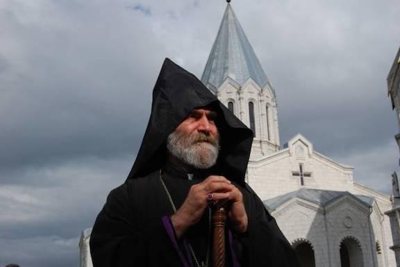Primate of the Artsakh Diocese Archbishop Parkev Martirosyan