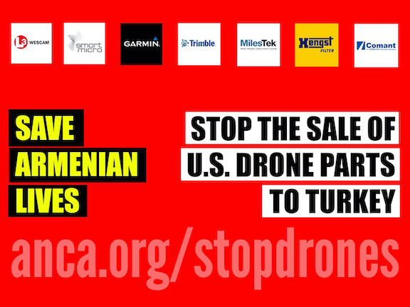 ANCA's Stop Drone campaign