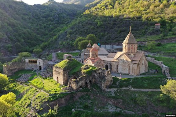 The 9th Century Dadivank Monastery is to be handed over to Azerbaijan