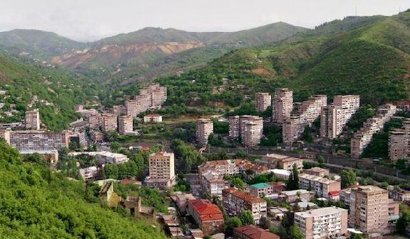 City of Kapan in Armenia's Syunik Province