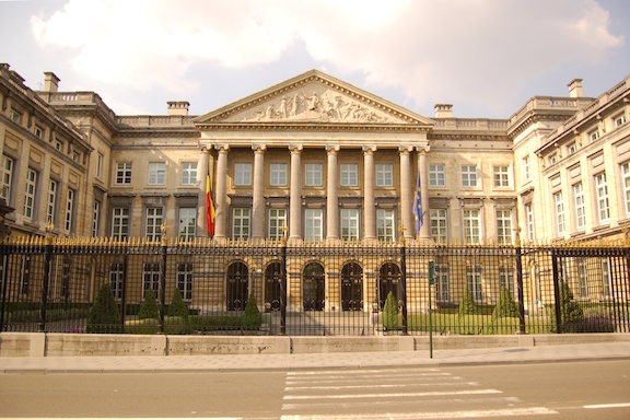 The Belgian Federal Parliament building