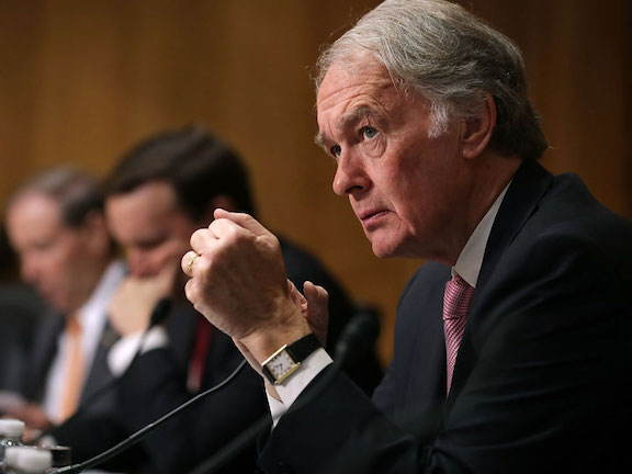 In response to questions by Sen. Ed Markey (D-MA), Secretary of State nominee Antony Blinken noted that the Biden Administration will be consulting with Congress on their April 24th Statement.