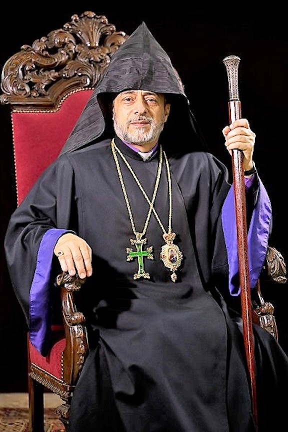 Primate of the Western U.S. Diocese Archbishop Hovnan Derderian