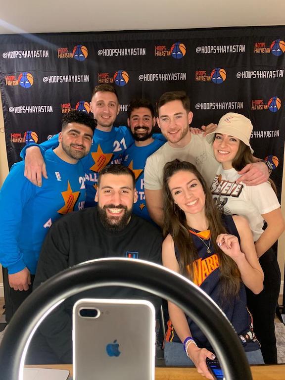 The Hoops 4 Armenia team