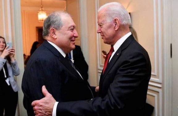 Armenian Genocide Recognition Sends Clear Message to Turkey, Sarkissian Tells Biden