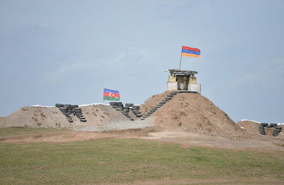 Azerbaijanis Breach Line of Contact, Cross into Armenia