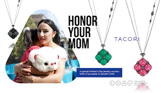 COAF and Tacori Partner to Support Children in Rural Armenia
