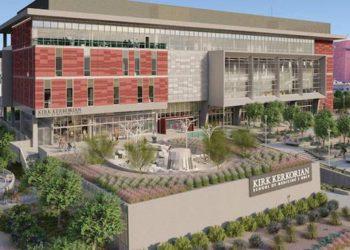 Construction Underway on UNLV's New Kirk Kerkorian School of Medicine Building
