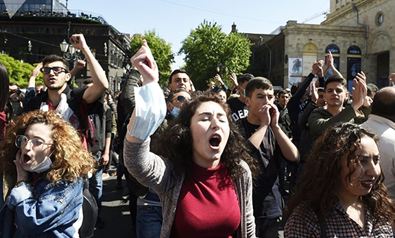 ASAs Across the U.S. Voice Solidarity with Armenia's Student-Driven Movement