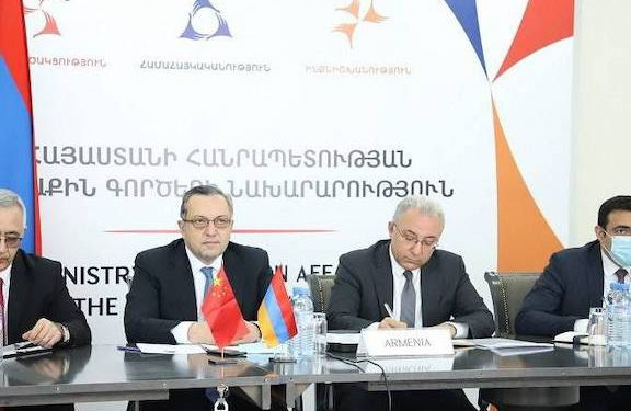 China Supports Armenia's Territorial Integrityand Sovereignty