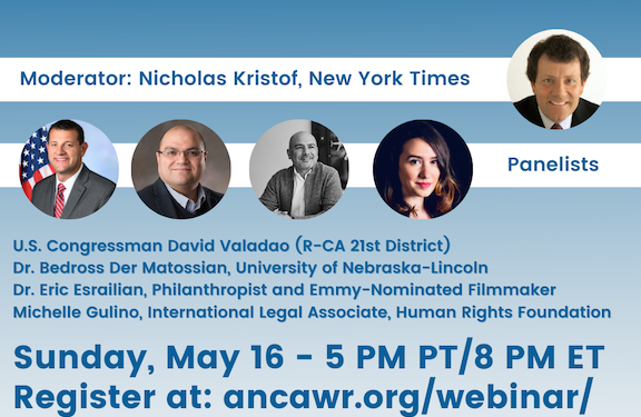 ANCA-WR and UCLA's PromiseInstitute to Co-Host Panel Discussion