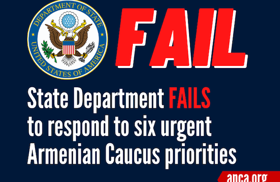State Dept. Fails to Address Bipartisan Demands for Azerbaijan's Release of POWs