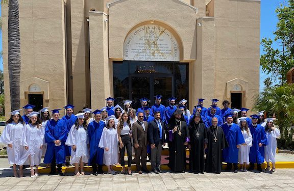 Mesrobian School Seniors Celebrate College Acceptances