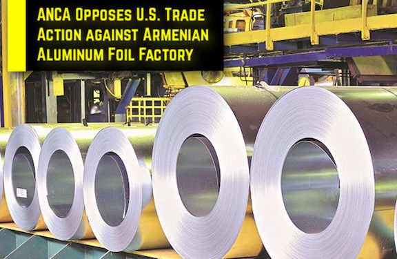Proposed Biden Trade Action Threatens over 700 Manufacturing Jobs in Armenia