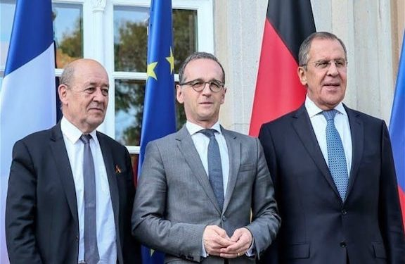 Russian, French and German Foreign Ministers Discuss Karabakh