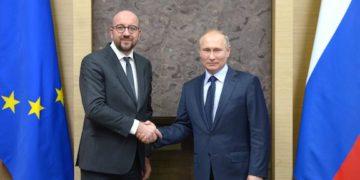 Putin, EU's Michel Discuss Karabakh