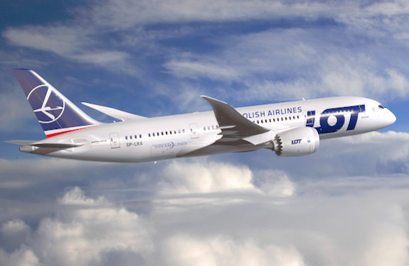 LOT Polish Airlines Resumes Flights from L.A. to Armenia, Offers Free Rebooking