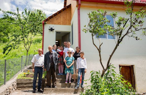 COAF Provides First Set of Homes to Displaced Families from Artsakh