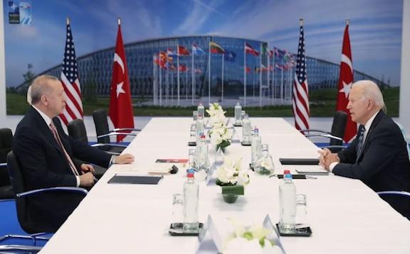Biden Meets With Erdogan