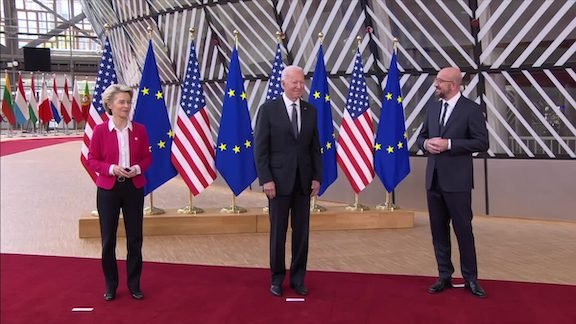 EU, US Promoting 'Confidence-Building Measures' With Yerevan, Baku, Says Michel