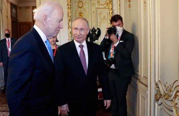 Biden, Putin Meet in Geneva