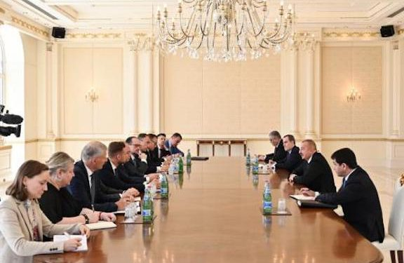While Occupying Armenia, Aliyev Now Wants a 'Peace Treaty' with Yerevan