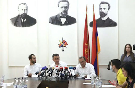ARF's New Supreme Council of Armenia Outlines Future Plans