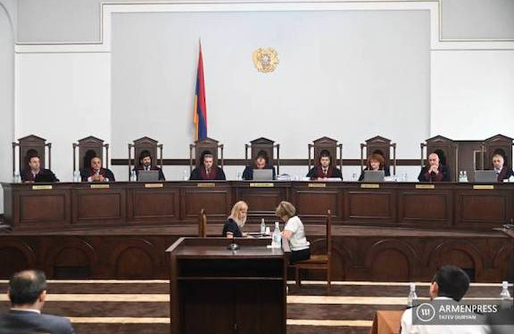 Armenia's Constitutional Court Upholds June 20 Election Results