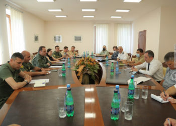 Defense Ministry Calls for International Reaction to Baku's Aggression