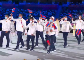 17 Athletes Representing Armenia Take Part in Olympics Opening Ceremony