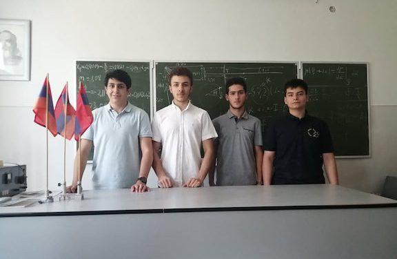 Armenia Wins Gold at International Physics Olympiad
