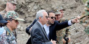 Iran's Ambassador to Armenia Visits Gegharkunik Border